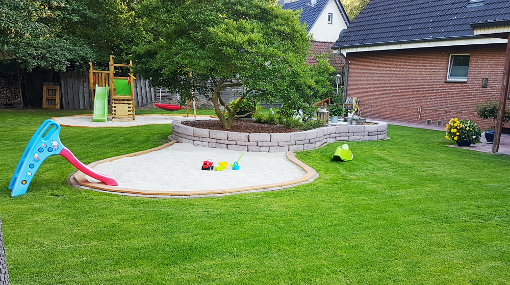 Kindertagespflege Die Zwergdrachen Celle - Der Garten